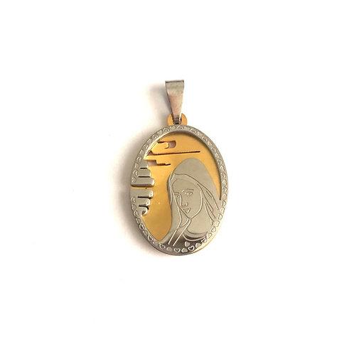 J063 Medalla La Virgen de Medjegourge