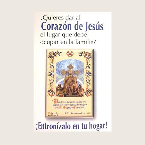 """Libro: """"¿Quieres dar al Corazón de Jesús el lugar que debe ocupar en la familia"""""""