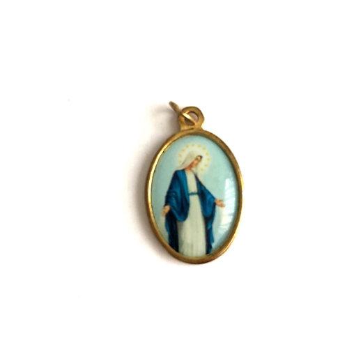 J057 Medalla La Virgen Milagrosa