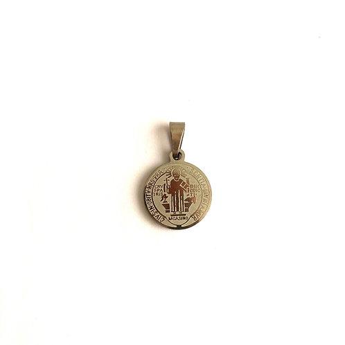 J039 Medalla Plateada San Benito pequeña