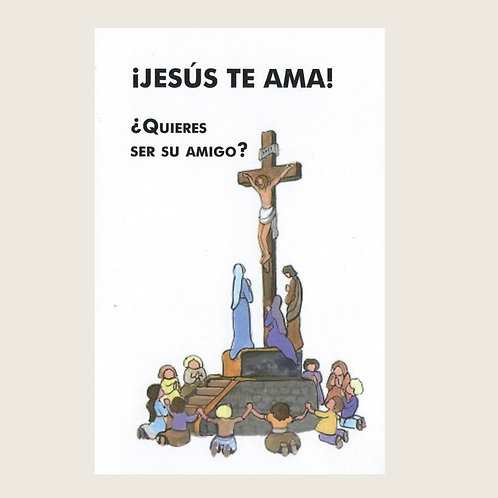 Libro: ¡Jesús te ama!