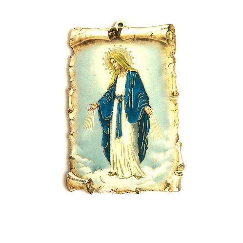 MC006 Cuadro La Virgen Milagrosa