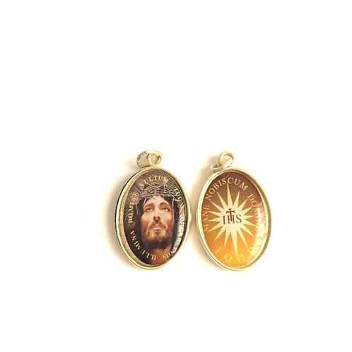 J056  Medalla Rostro Nuesto Señor Jesús