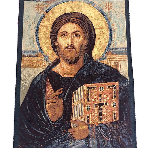 V024 Tapiz Italiano Cristo Pantocratore