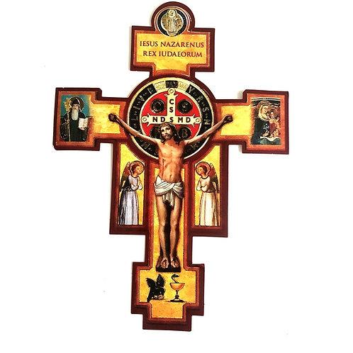 V009 Cruz De San Benito Con Oración de Sanacion