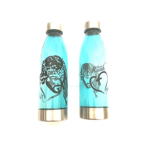 J060 Botella Azul solo para agua