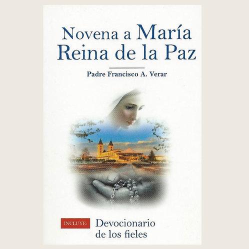 """Libro: """"Novena a María, Reina de la Paz"""""""