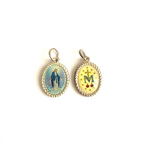 J051 Medalla La Virgen Milagrosa