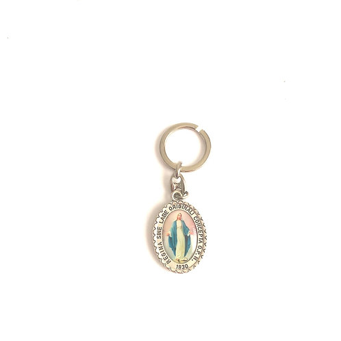 ML001 Llavero con imagen Virgen Maria
