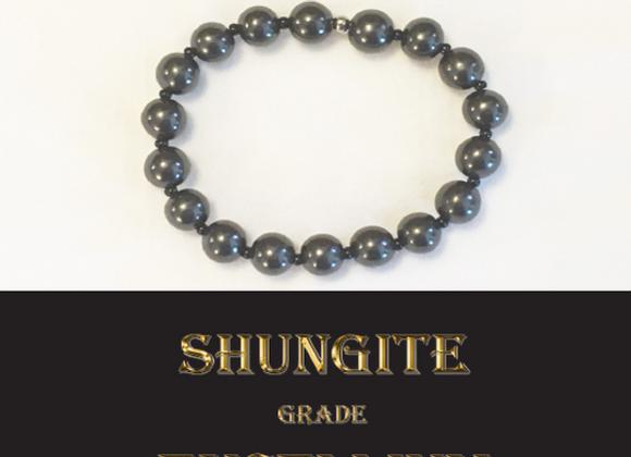 Bracelet en pierre de Shungite