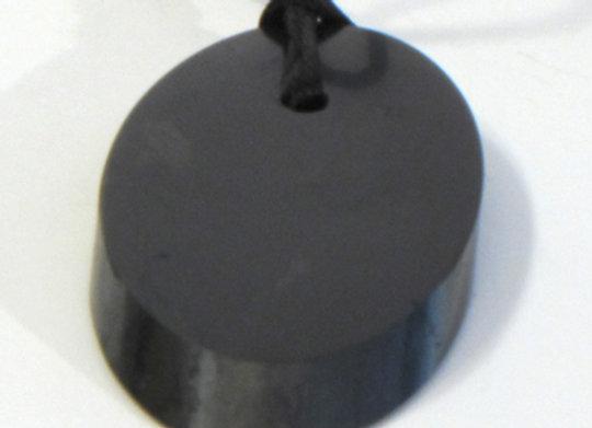 Collier ajustable en pierre de Shungite ovale