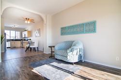 livingroom east wall