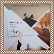 Gevinst 22 - Gavekort Sport 1 Hafjell fr