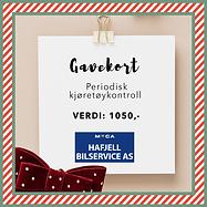Gevinst 1 - Gavekort Meca Hafjell Bilser