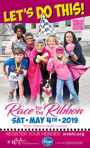 2019 Race For The Ribbon Poster