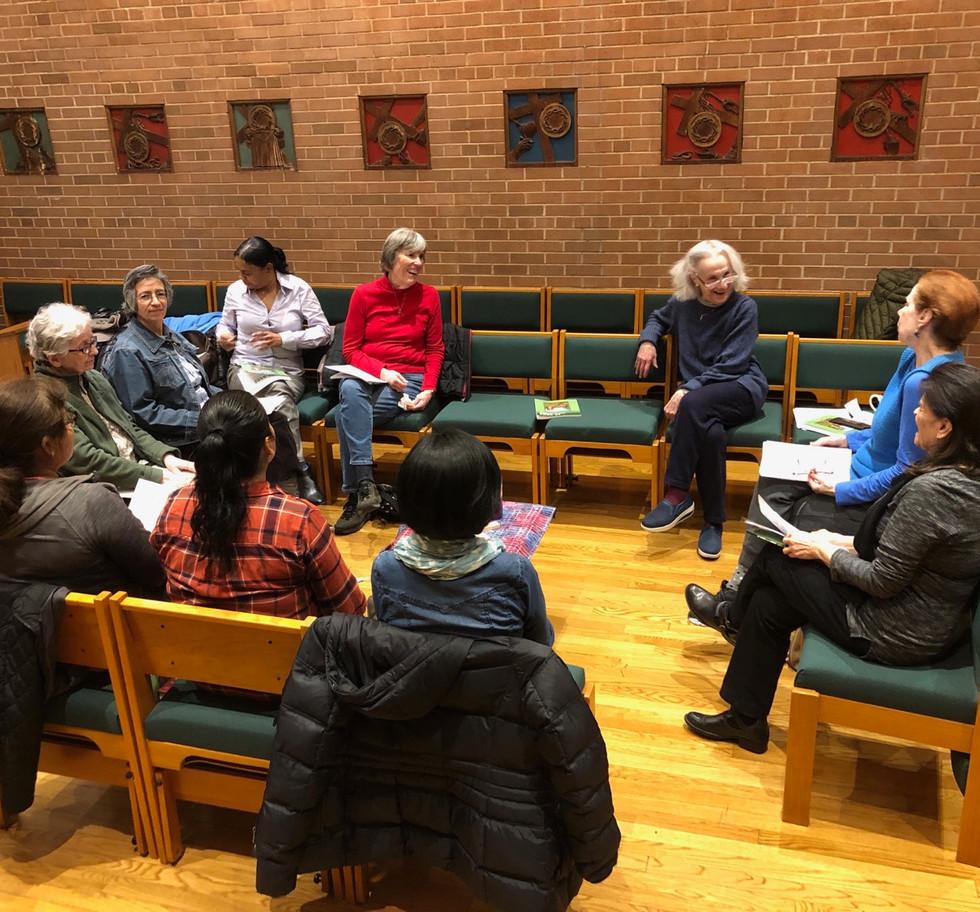 Adult Faith Formation gathering