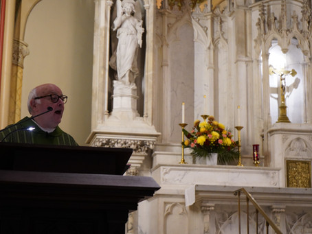 Msgr. Ivers' Homily for the 29th Sunday in Ordinary Time