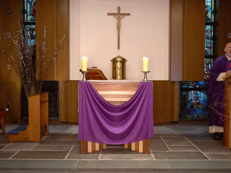 5th Sunday in Lent year A 2020