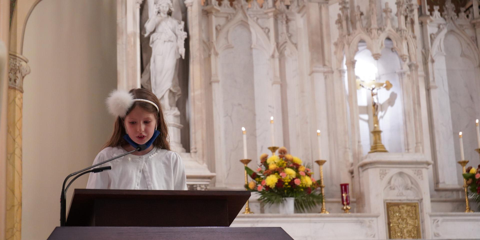 St. Stephen of Hungary School First Communion 2020