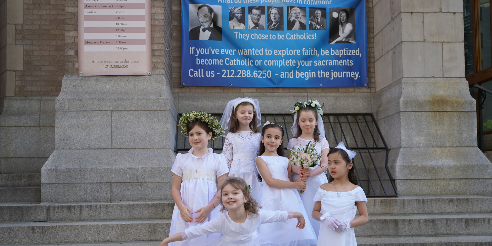 First Communion group photo