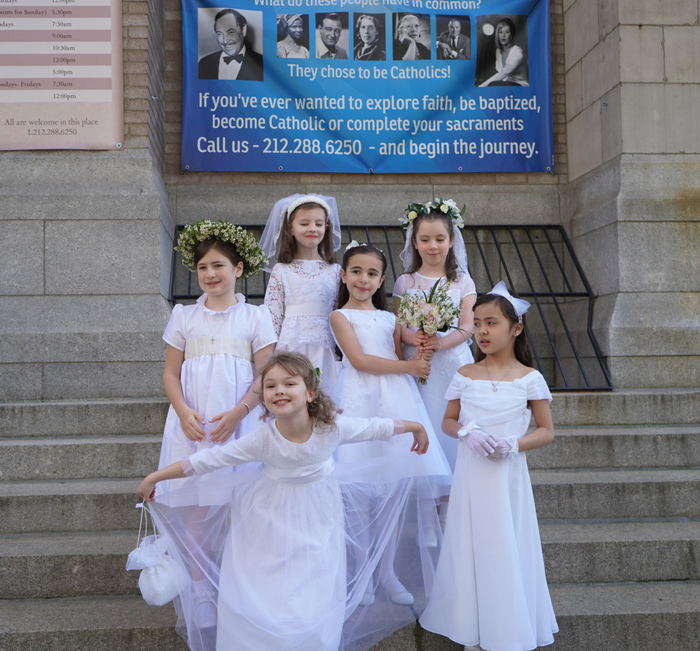 First Communions