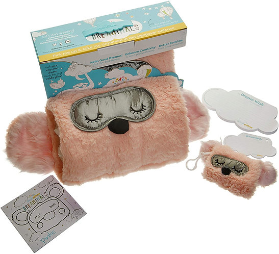 Pinkie Dream Pillow Replace Bad Dreams With Good Plus School Bag Hand Sanitiser