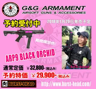 G&G ARP9 BLACK ORCHID 限定品