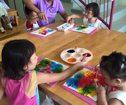 กิจกรรมศิลปะ กับ คุณครูนุ่น