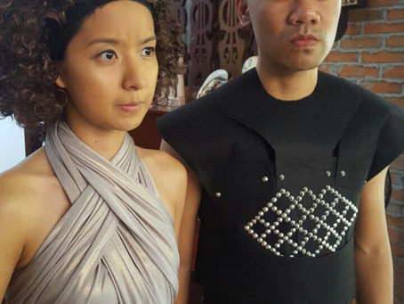 Grey Worm and a Jeepney: DIY no-sew costumes