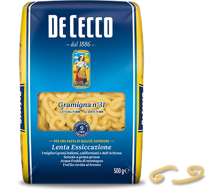 Gramigna 500g De Cecco