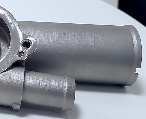 prototipo acciaio inox AISI316L