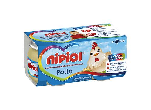 OMOGENIZZATI NIPIOL POLLO/VITELLO 2X80g