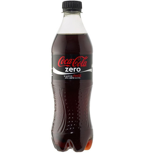 cocacola zero bottiglia plastica 50cl