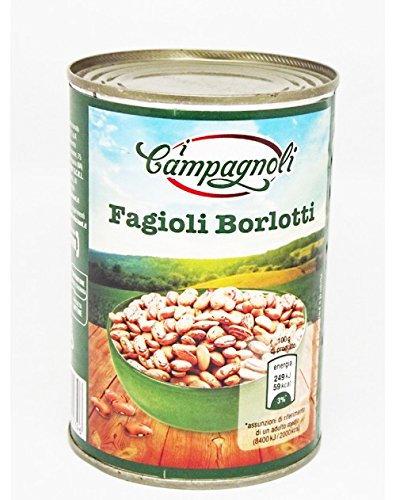 Fagioli borlotti Campagnoli 475gr
