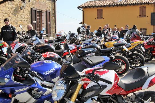 moto turismo appennino