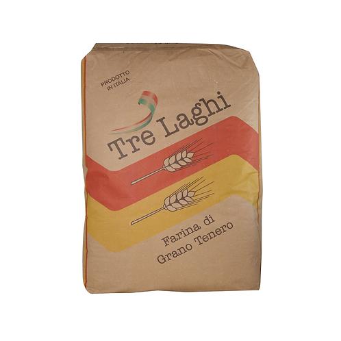 FARINA GRANO TENERO 1 kg 3 LAGHI