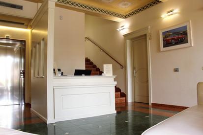reception hotel villa maranello
