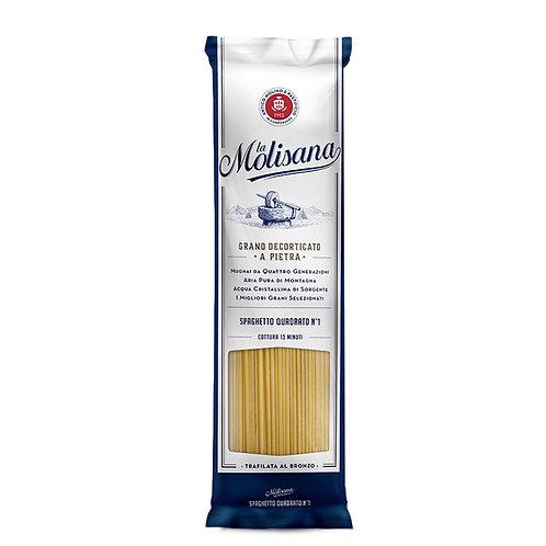 pasta trafilata al bronzo molisana Spaghetti quadrati 500g