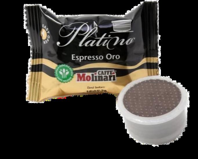 Capsule Caffe'Molinari Espresso Oro (confezione da 100pz.)