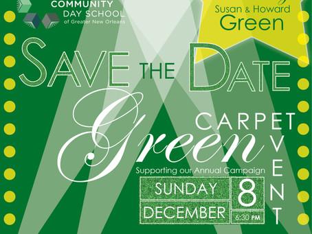 Green Carpet Event, December 8th