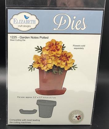 Garden Notes Potted Die