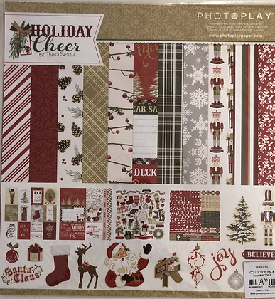 Holiday Cheer 12x12 Collection Kit