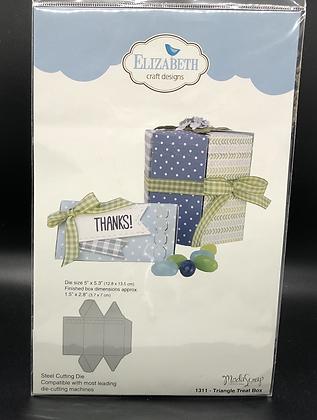 Triangle Treat Box Die