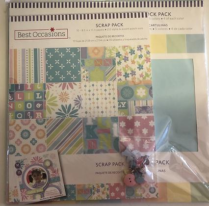 Pastels Scrap Packs Collection