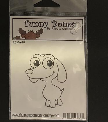 Funny Bones Rubber Stamp