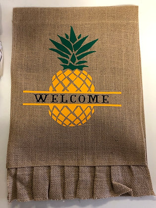 Pineapple Welcome Flag