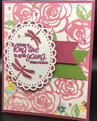 Grow Young Happy Birthday Card Kit