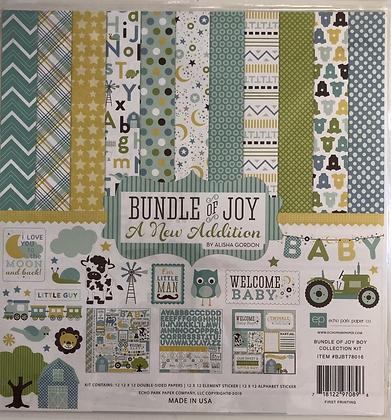 Bundle of Joy - Baby Boy 12x12 Collection Kit