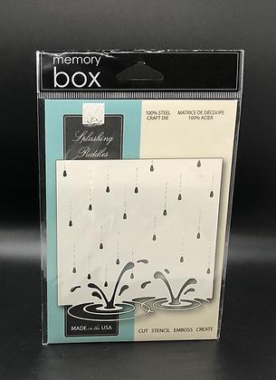 Splashing Puddles die by Memory Box