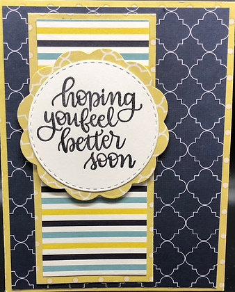 Hoping You Feel Better Card Kit